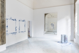 Moussa Sarr Exhibition view, Narcisse stranger everywhere, Villa Romana, Florence (It), 2018