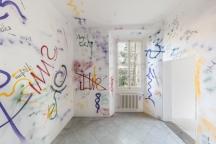 Moussa Sarr Exhibition view, Narcisse stranger everywhere, Villa Romana, Florence (It), 2018