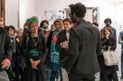 Moussa Sarr Performance, Narcisse stranger everywhere, Villa Romana, Florence (It), 2018