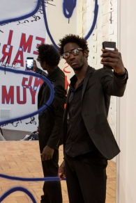 Moussa Sarr Narcisse avia (Le miroir de Narcisse), exhibition view, Take me I'm Yours, Villa Medicis, 2018Moussa Sarr