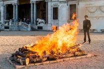 Moussa Sarr La grande dévoreuse, performance, Villa Medicis, 2018